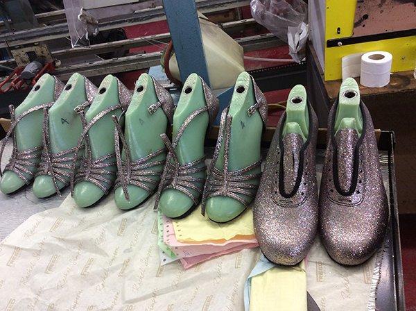 Freed, shoemaker, ballroom shoes, bespoke shoes
