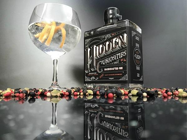 Hidden Curiosities craft gin