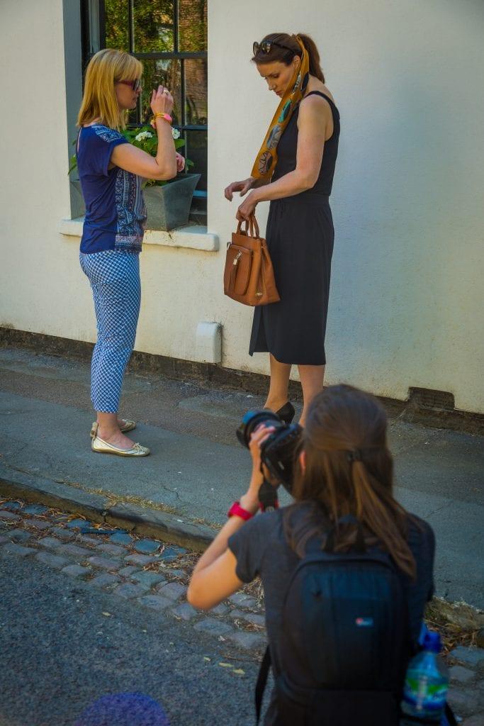 British collaboration, Yull shoes, VVA handbags, Bianca Elgar, Salome