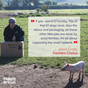 Farmers Choice, Jason Crotty, food provenance, free range, farmers market, locally sourced, produce, food