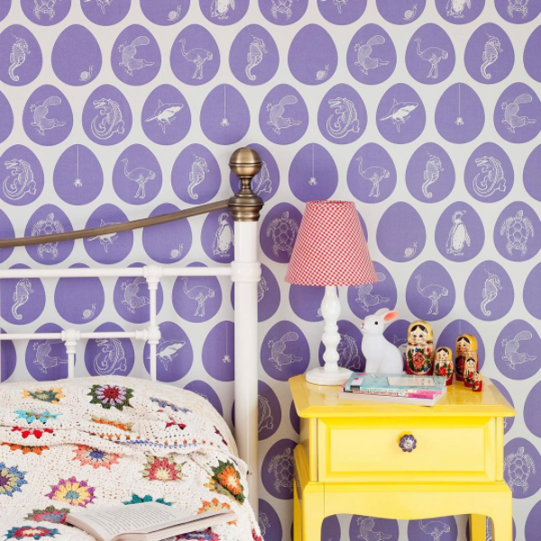 Paperboy interiors, Wallpaper, fabric, product design, London Design Festival