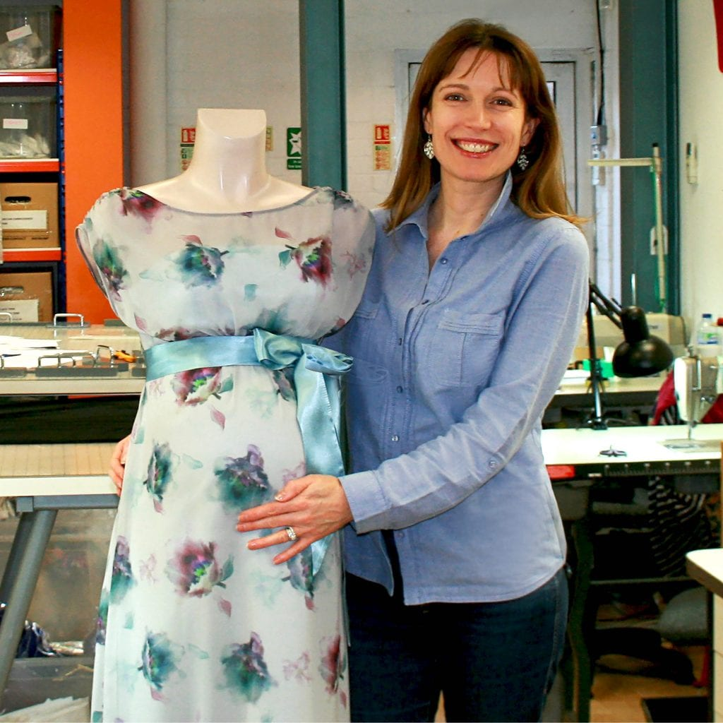 Tiffany London in her studio