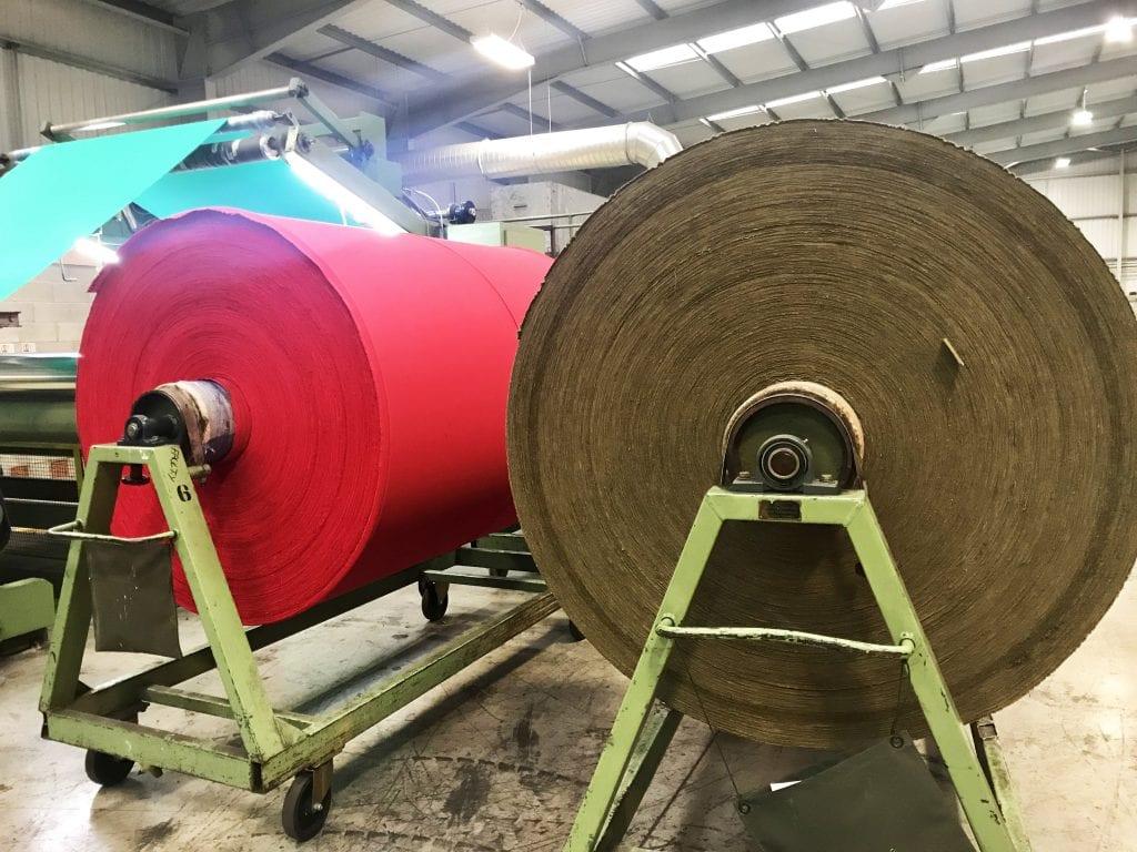 Waxed cotton, textile manufacturer