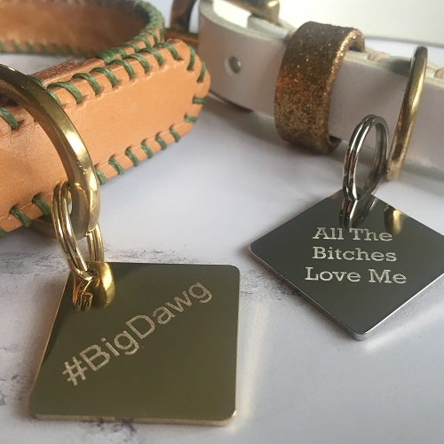 Broughton & Co Dog Tags Make it British Christmas