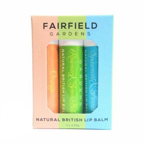 Fairfield lip balm Make it British Christmas