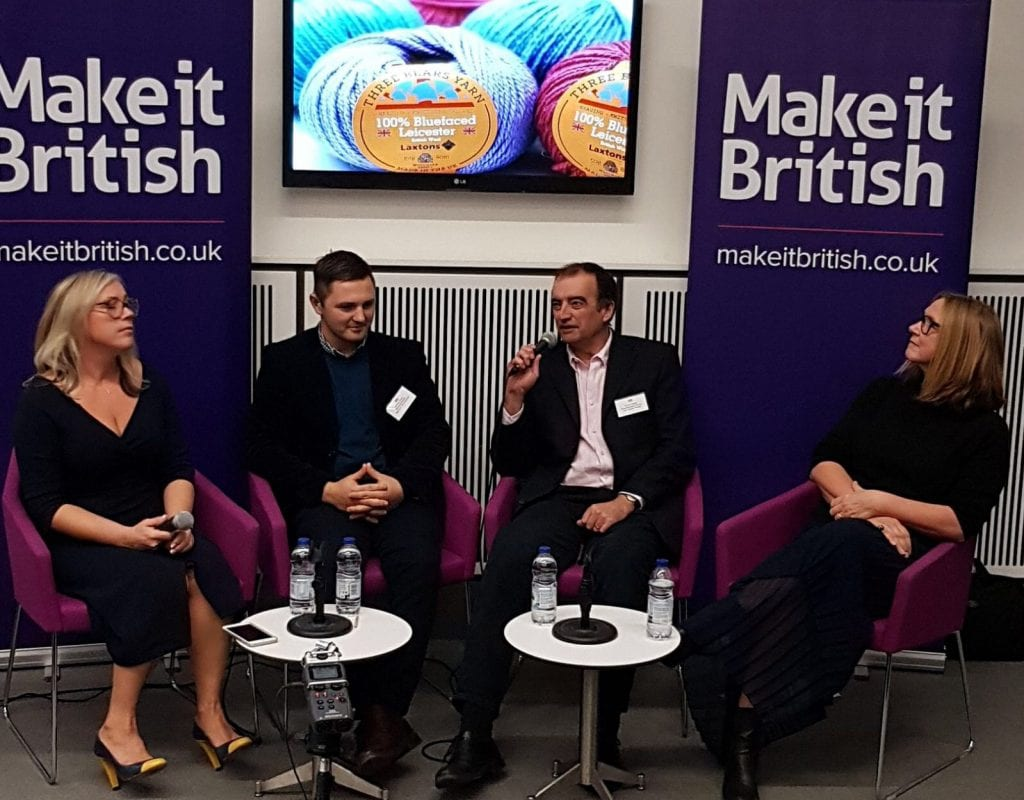 #mibforum, The Make it British Forum 2017, Manchester Fashion Institute