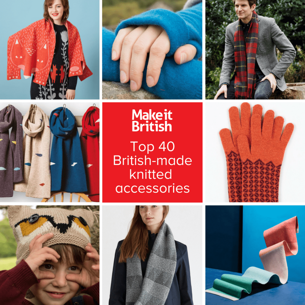 31582feb9e Top 40 British-made knitted accessories brands