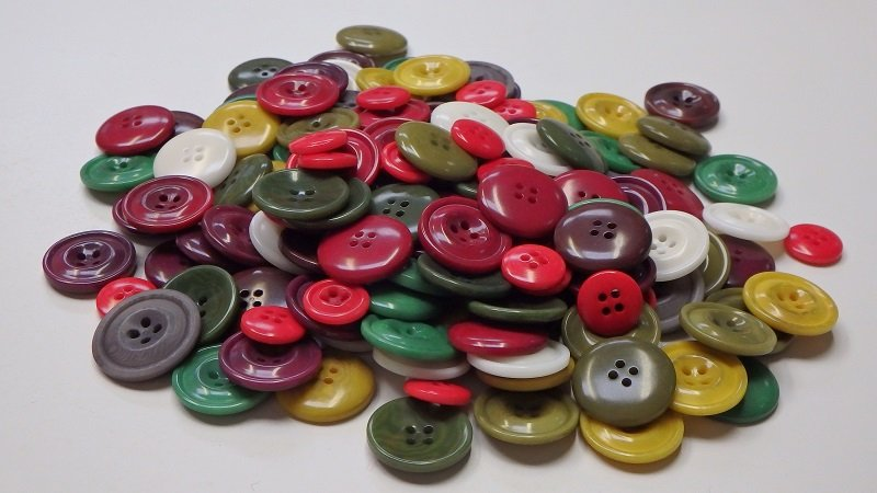 buttons, natural buttons