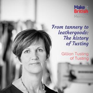 handbag, leather, craftsmanship, Tusting, interview, Gillian Tusting