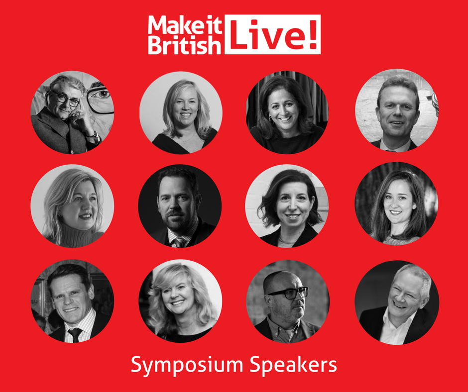 Make it British Symposium Speakers