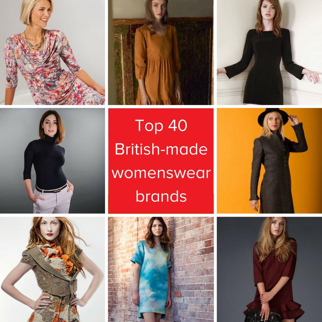 8bedc470b9 Top 40 British womenswear brands made in Britain