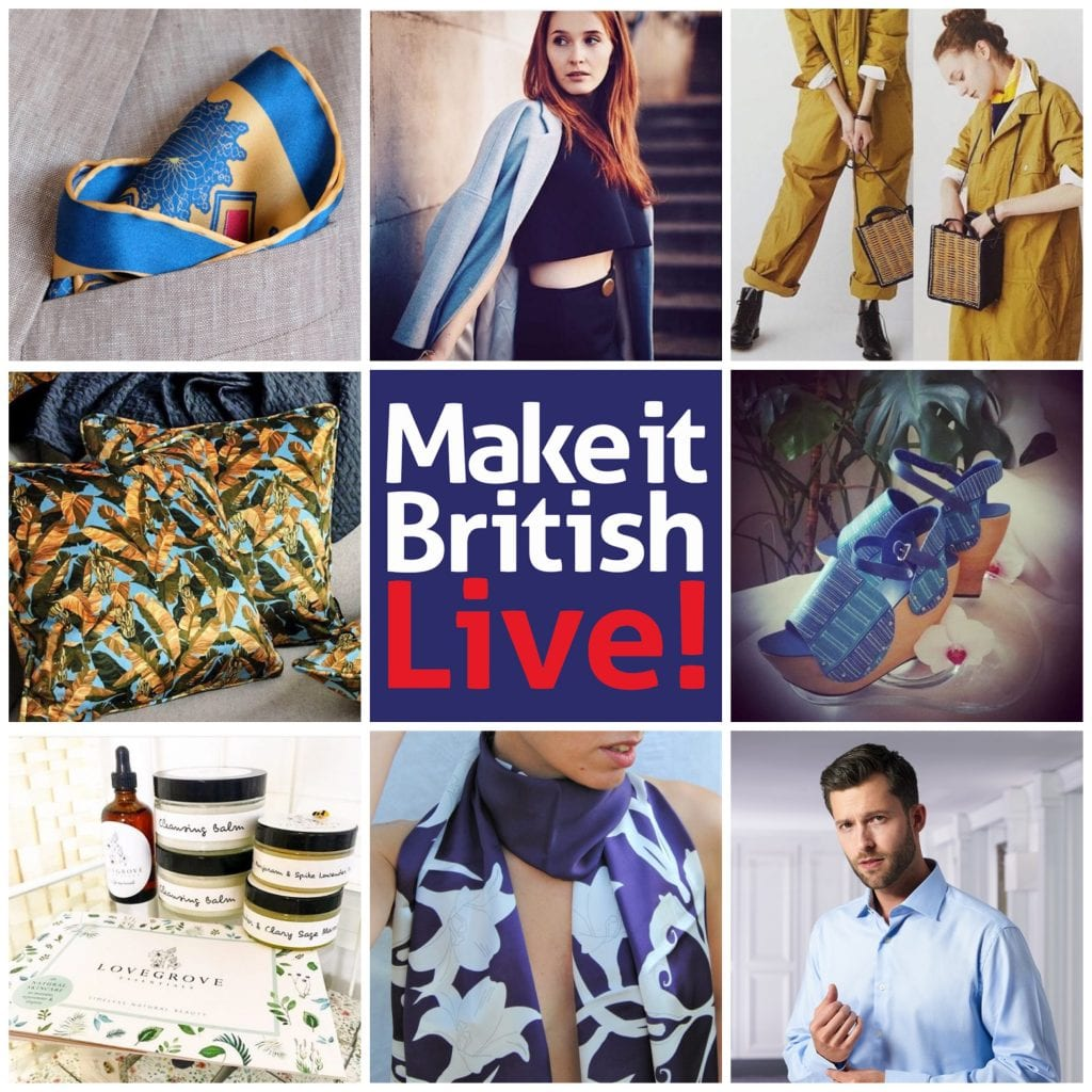 Top 25 British brands at Make it British Live