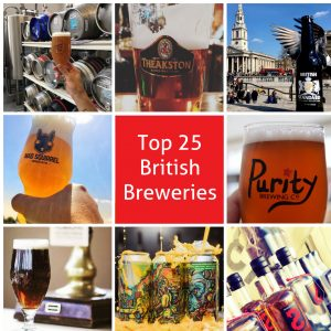 Top 25 British Breweries