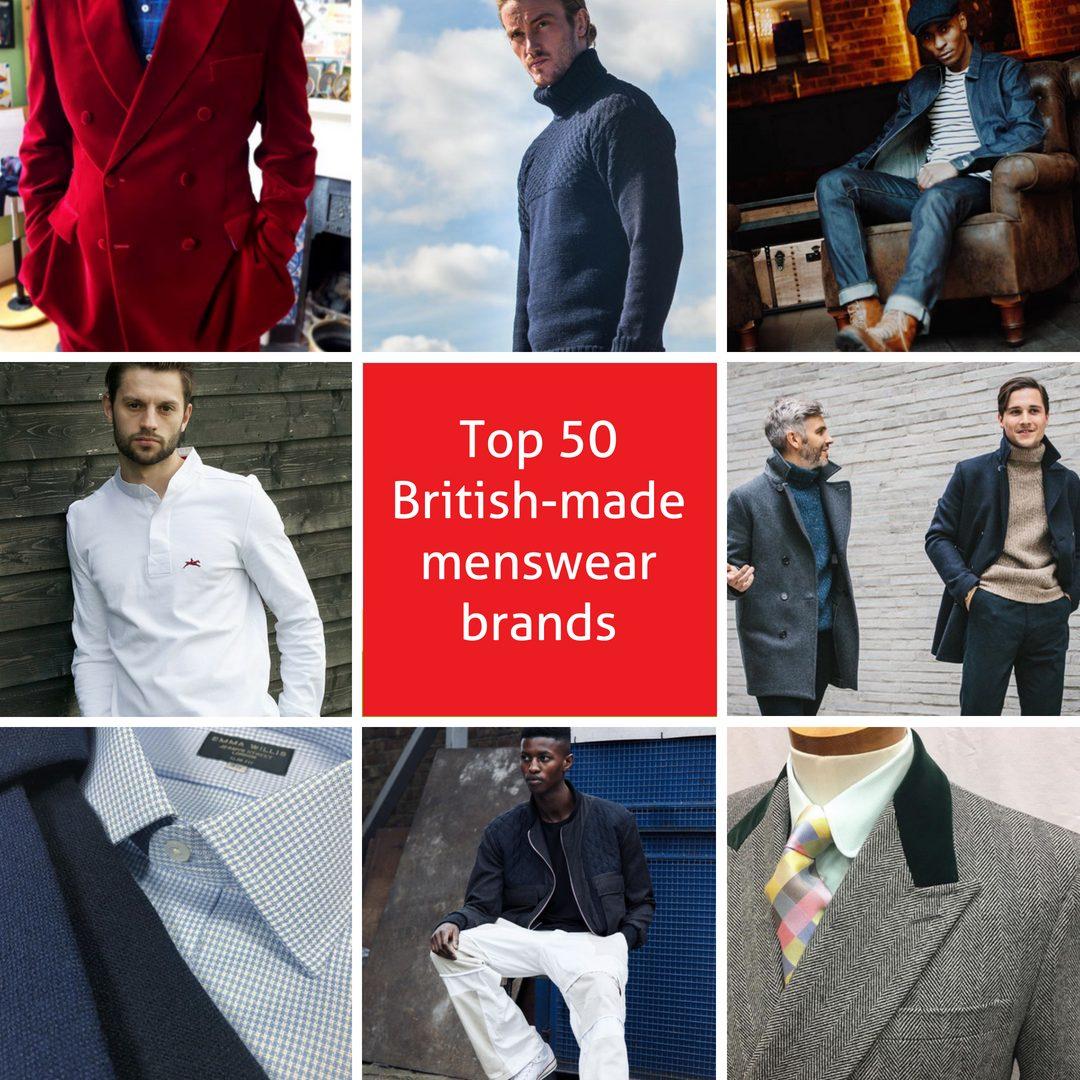 Top 50 British Made Menswear Brands Make It British
