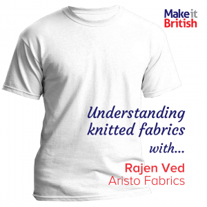 knitted fabrics, aristo, Rajen Ved