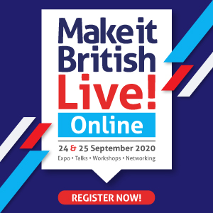 Make it British Live Online 2020