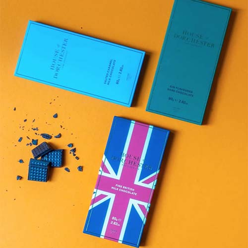 House of Dorchester, British-made chocolates