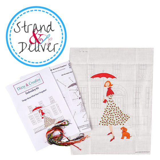 embroidery, Kickstarter