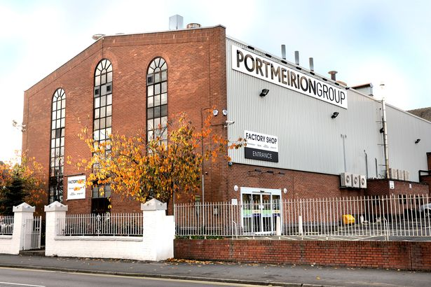 Portmerion pottery factory