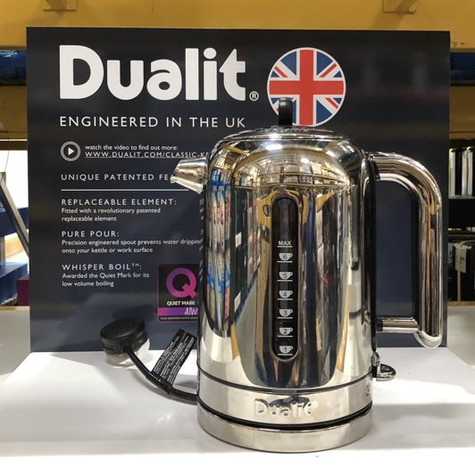 is this dualit kettle made in the UK