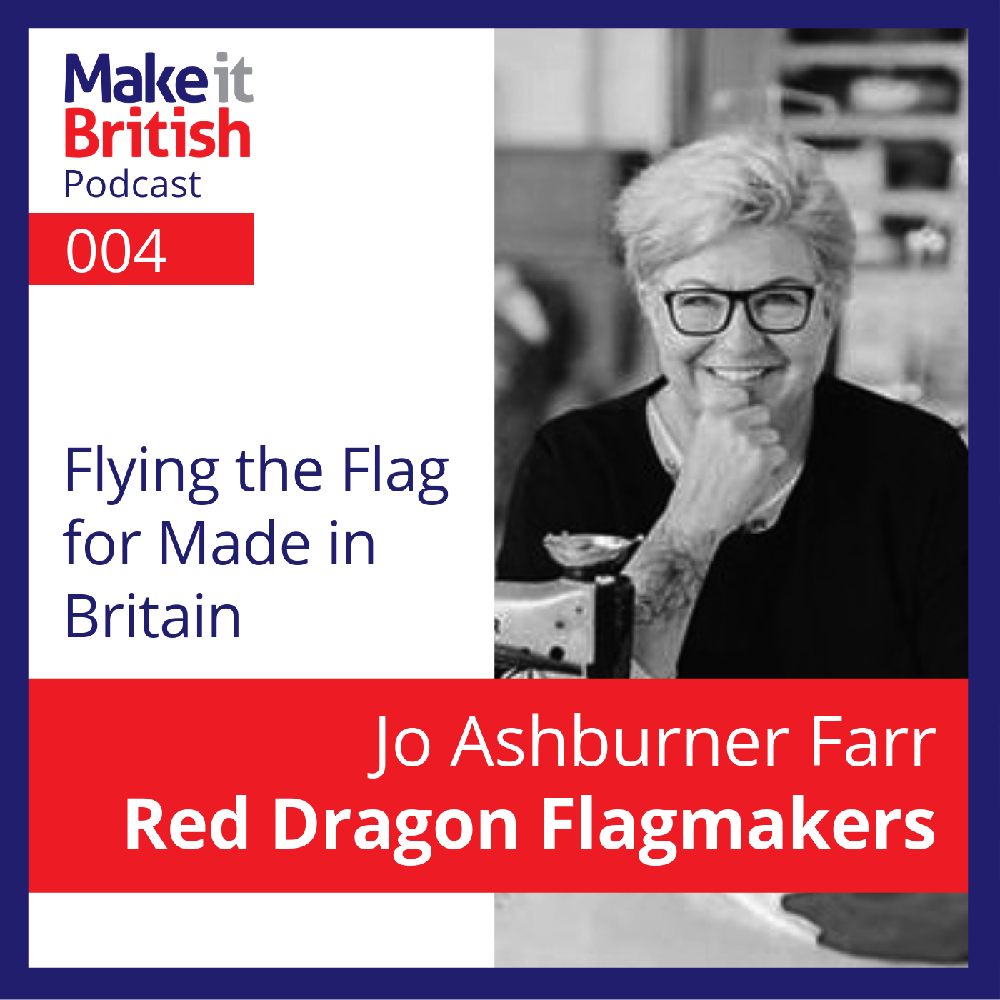 Jo Ashburner Farr Red Dragon Flagmakers
