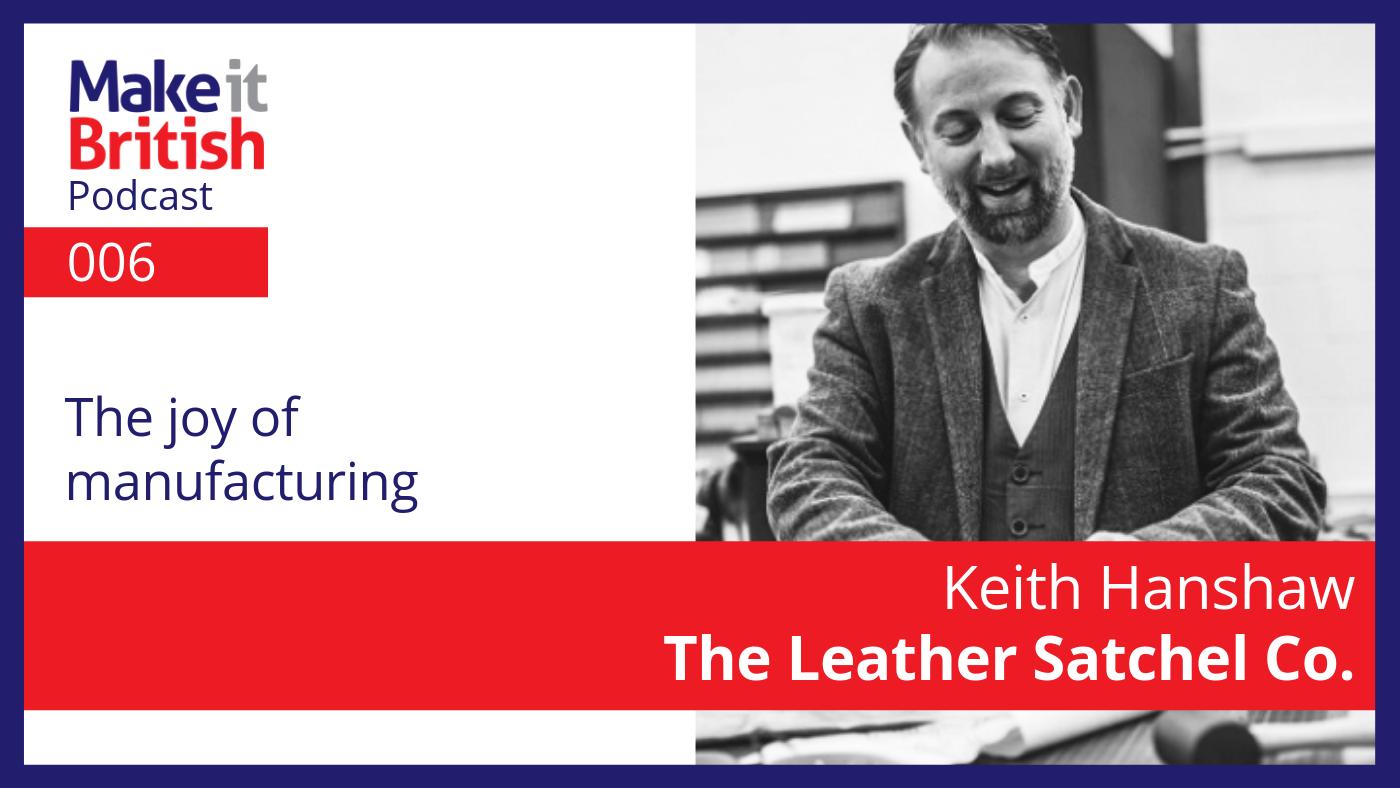 Keith Hanshaw Leather Satchel Co