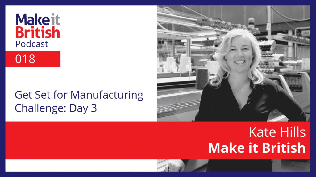Get Set for Manufacturing Day 3