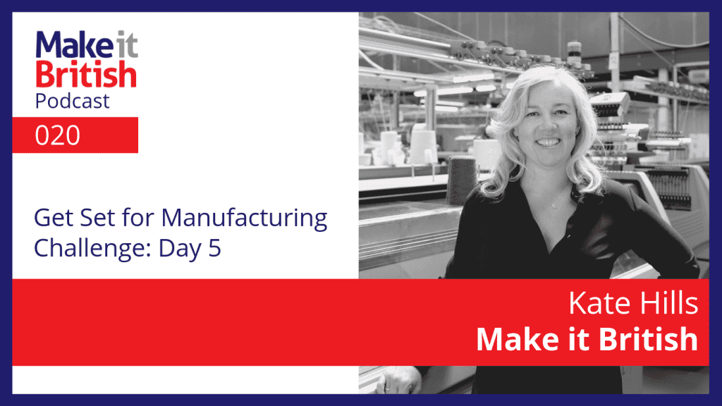 Get Set for Manufacturing Day 5