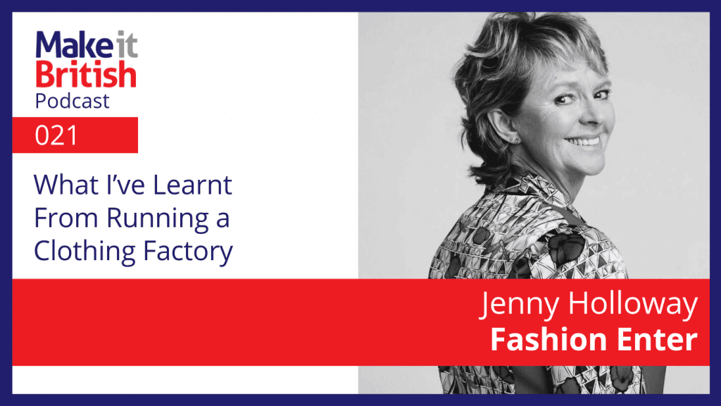 Jenny Holloway Fashion Enter Clothing factory