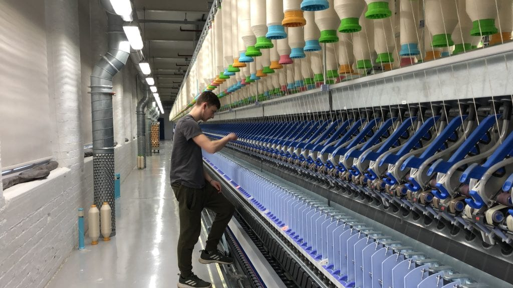 Cotton Spinning Manchester