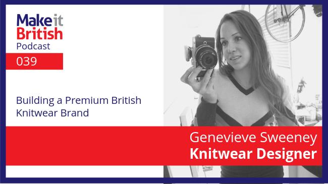 Genevieve Sweeney Knitwear designer