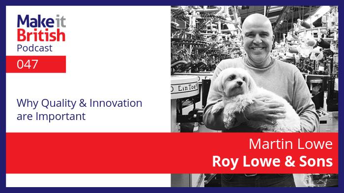 Martin Lowe Sock Manufacturer