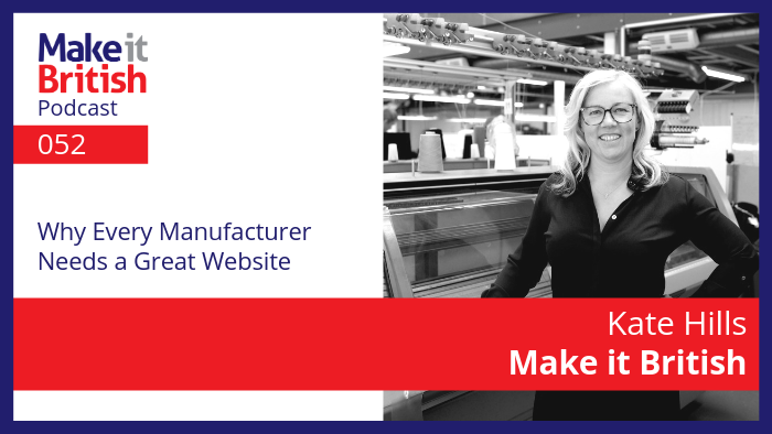 why every manufacturer needs a great website