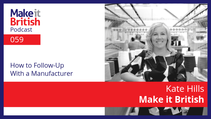 How to Follow Up with a Manufacturer