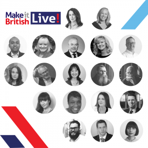 Burberry stellar speaker line up make it british live