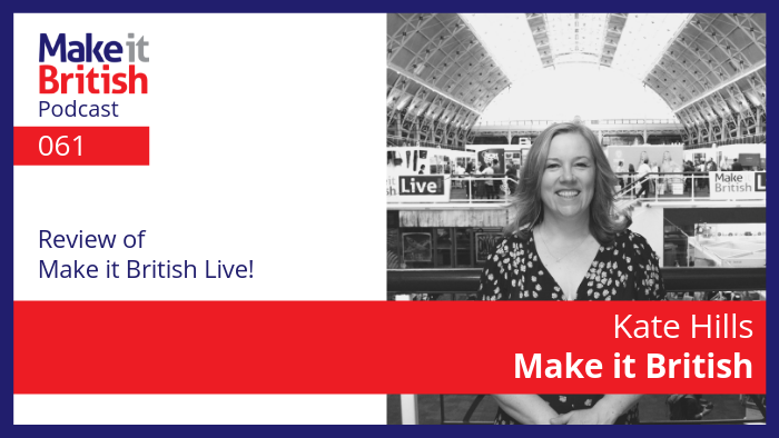Review of Make it British Live!
