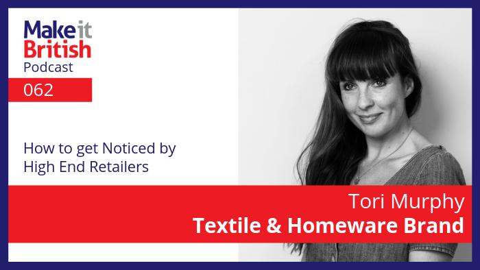 Tori Murphy Textile & Homeware Brand