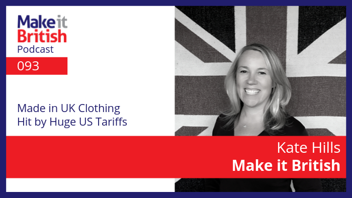 made in uk clothing hit by US tariffs