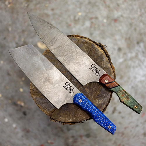 Blok Knives British-made kitchenware
