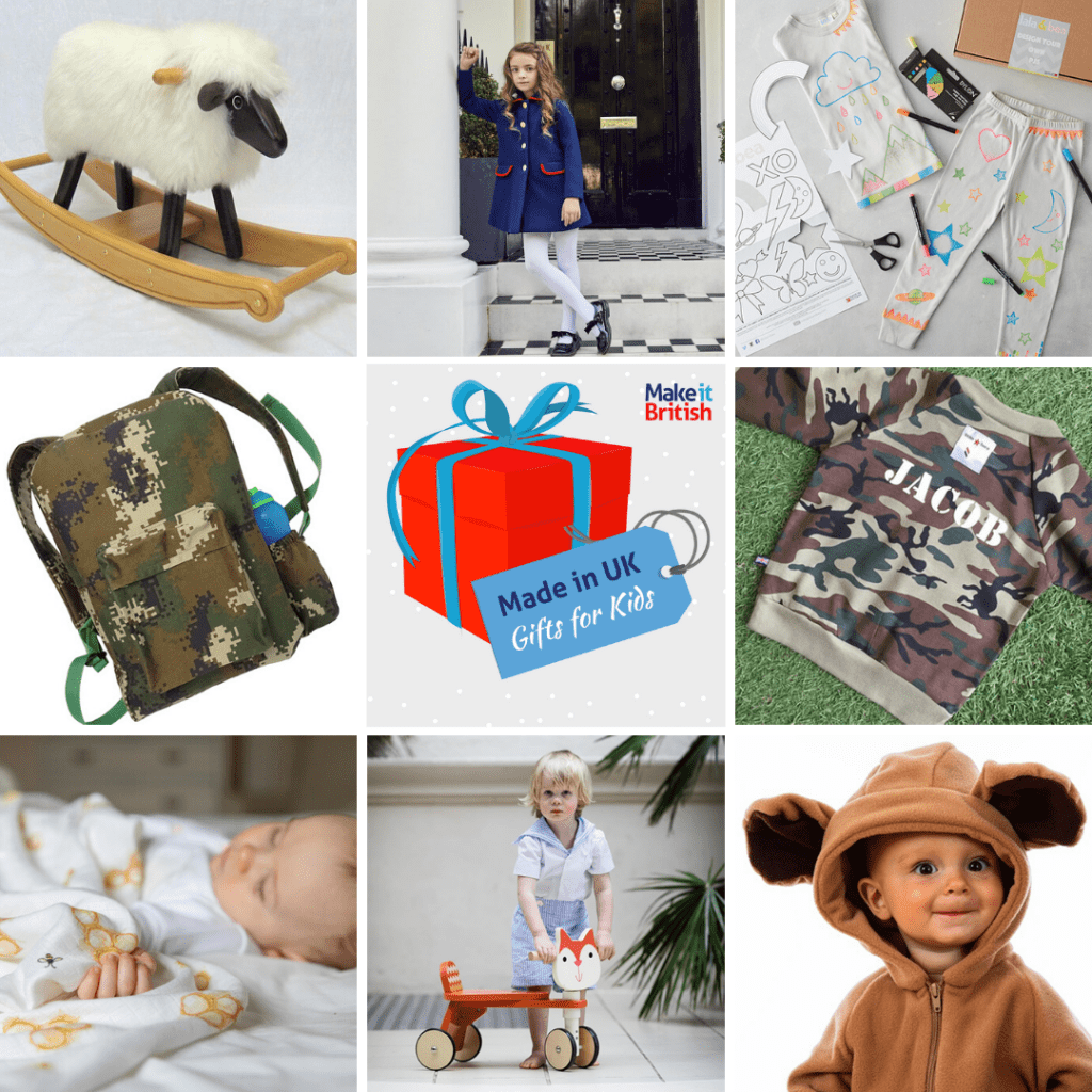 Made in UK Christmas gifts for kids