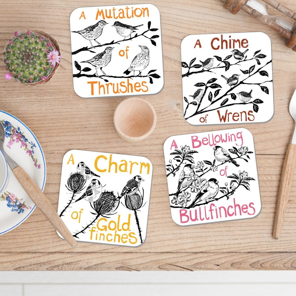 Bird-collective-noun-coasters-photo-square