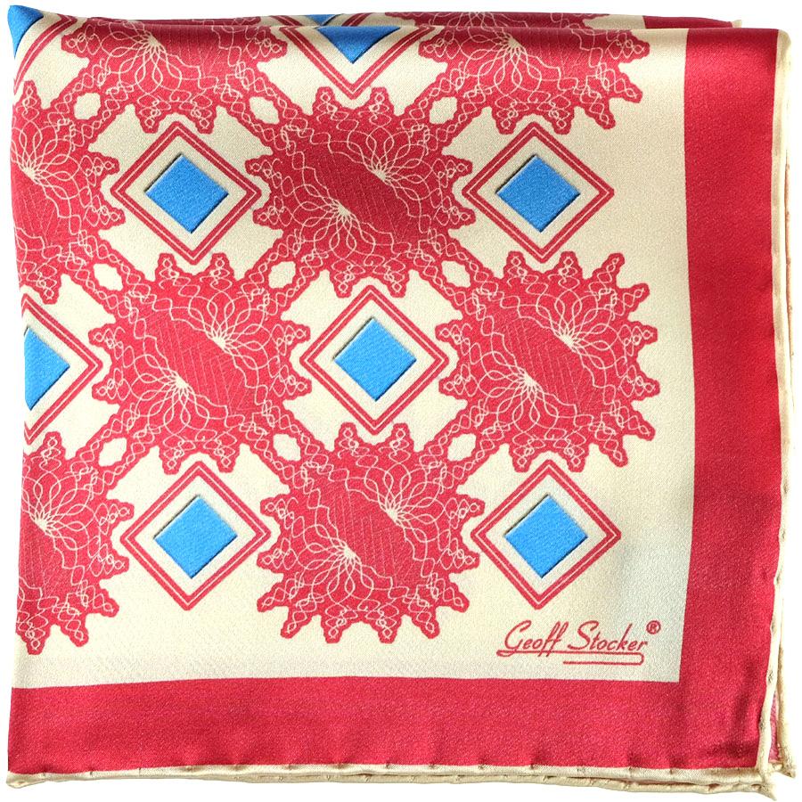 Nova-red-cream-pocket-square