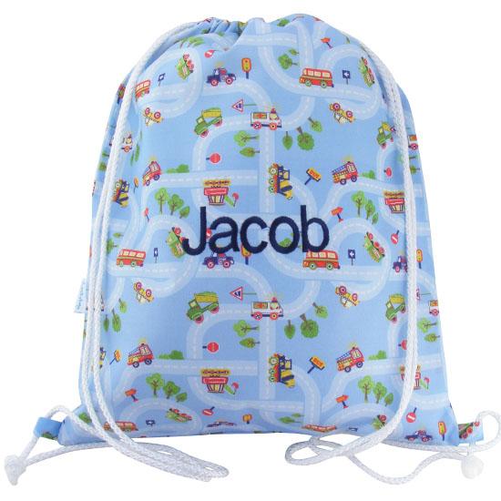 cars-trucks-bus-swim-bagdrawstring-backpack
