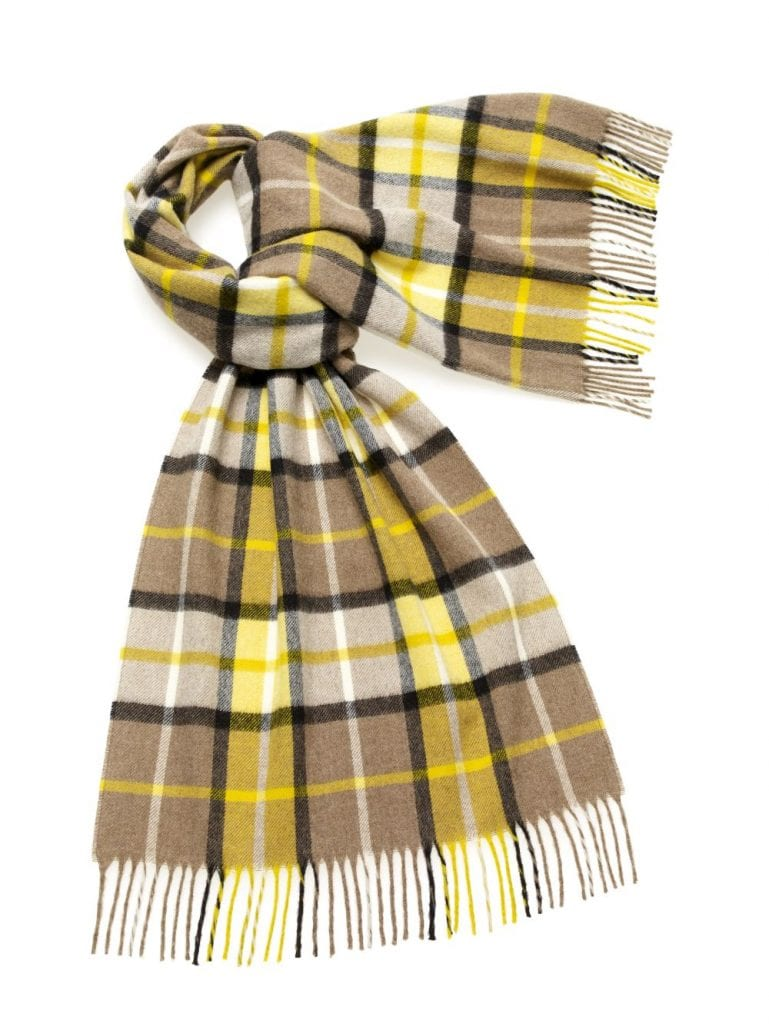 S0485-K06-Lambswool-Country-Winchester-Stole-Neutral-Yellow-50cm