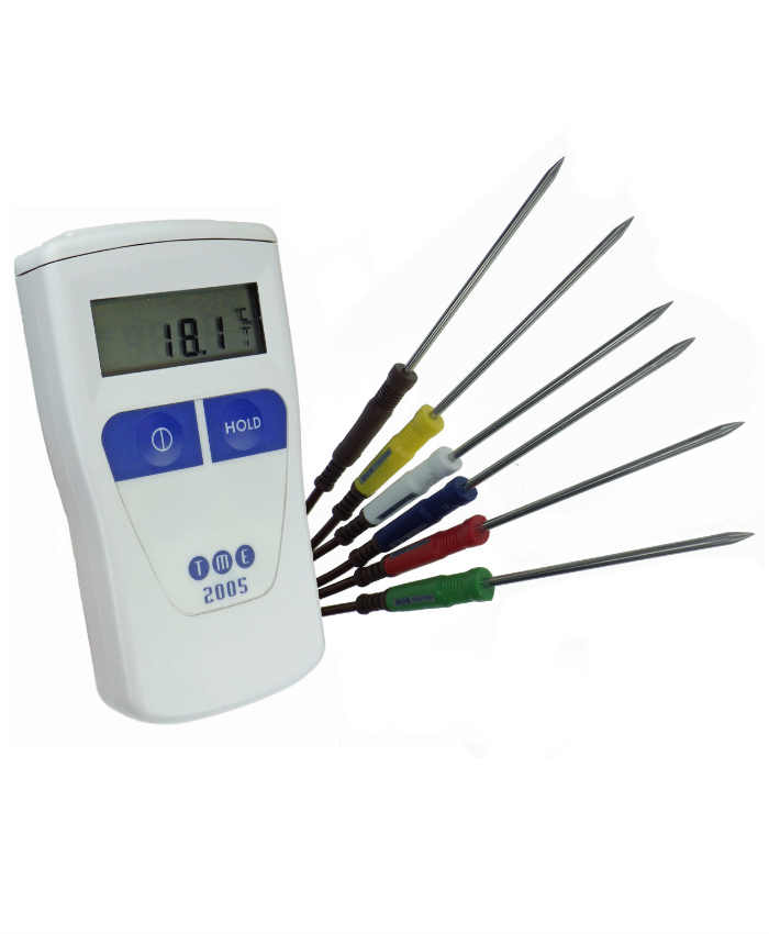 TME-CA2005-PK-Handheld-Digital-Thermometer-with-6-Colour-Coded-Temperature-Probes-for-Food-1