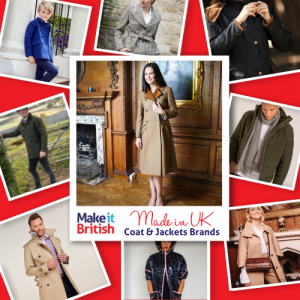 Top 20 UK-made coat and jackets brands