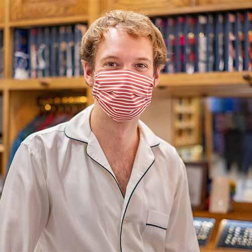Budd Shirtmakers Cotton Face Mask