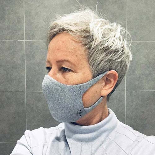Foxology knitted face mask