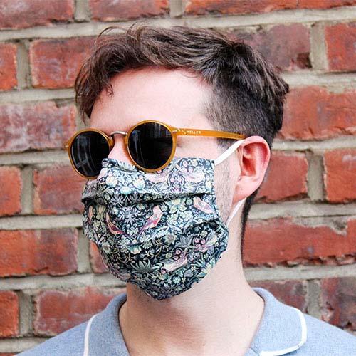 The Little Cloth Shop cotton face mask