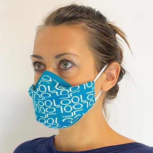 Waring Brooke Knitted face mask